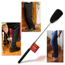 EXTENDABLE PLASTIC SHOE HORN REMOVER LONG REACH MOBILITY DISABILITY AID FLEXIBLE