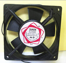 SUNON 80mm AC 220V - 240V Aluminum Cooling Fan Computer 80 x 80 x 25mm