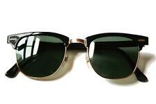 Sunglasses in Retro Clubmaster Style UV400  Protection For Men and Women