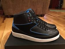 Nike Air Jordan 2 Retro Radio Raheem Black Blue White Pink 834274-014 Size 14