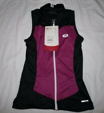 New Sugoi Women's Evolution Jersey Medium Sleeveless Bike Cycling Purple M NWT