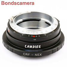Camdiox Contax Rangefinder RF Lens to Sony NEX E mount adapter A6000 A7 A7R 5T 7