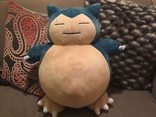 Pokemon Center USA Snorlax 100% Authentic Limited Edition Jumbo Plush Sold Out!!