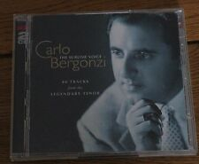 Carlo Bergonzi: The Sublime Voice (2000) - 2CD Set - Fine