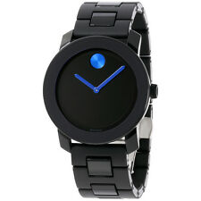 Movado Bold Black Dial Stainless Steel Men's Watch 3600099