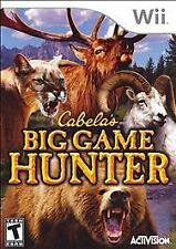 Cabelas Big Game Hunter, Good Nintendo Wii, Nintendo Wii Video Games