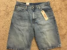 NWT Men's LEVI'S 569 Loose Straight Fit Denim Jean Shorts Size 36 MSRP $45