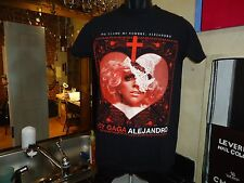 (W) Lady Gaga Alejandro black no tag t-shirt, American singer/songwriter/actor