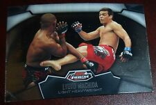 Lyoto Machida 2012 Topps Finest UFC Trading Card #80 The Dragon 157 98 129 104