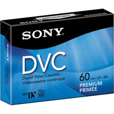 1 Sony DVC MiniDV digital video tape for VX700 VX2100 VX2000 VX1000 TRV950 cam