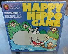 Vintage Happy Hippo Board Game Colorforms Monkeys Ages 4+ NIB Sealed 1979