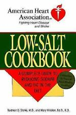 Low-Salt Cookbook: A Comp Guide to Reducing Sodium & Fat in Diet (American Heart