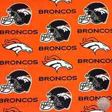 134679950 - Denver Broncos 6718D NFL 100% Cotton Football Fabric By The Yard