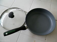 12'' GREENPAN NON STICK COOL HANDLE SKILLET & LID