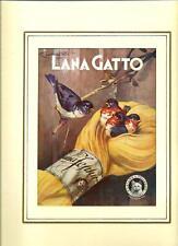 Codognato : Lana Gatto - Pubblicità tratta da rivista del 1934