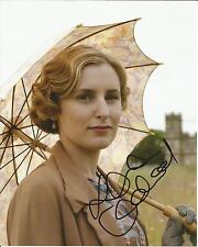Hand Signed 8x10 LAURA CARMICHAEL - DOWNTON ABBEY as LADY EDITH CRAWLEY + my COA