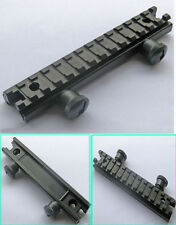 See-Thru 1/2 inch Riser Base 1913 Picatinny Rail on Flat Top Solid Scope Mount