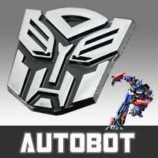 Transformer Autobot S Chrome Sticker Chevrolet Spark Sail Beat Cruze Tavera Aveo