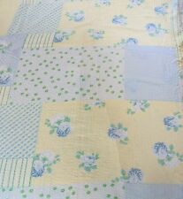 Vintage Erwin Muller Twin Size Duvet Cover 1 Euro Sham Patchwork Shabby Chic