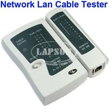Network Cable Tester Lan Cat5 RJ45 RJ11 Tool Kit Cat-5 Cat-6 Wire Line Test UK