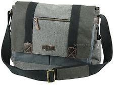 Troop London Urban Collection Laptop Messenger Shoulder Bag - TRP0386 Grey