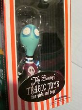 "Tim Burton's Tragic Toys TOXIC BOY RARE 2009 7"" LARGE Vinyl Figure NEW SEALED"