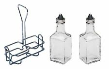 6 oz. (Ounce) Tabletop Oil and Vinegar Cruet by Update International Set of two