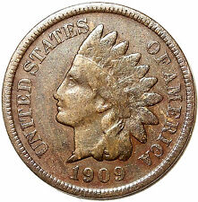 1909-S Indian Head Cent *Key Date* Bronze, Liberty, L@K!