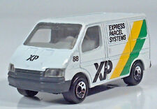 """Matchbox Ford Transit Van 3"""" 1:63 Scale XP Express Parcel Systems Delivery Truck"""
