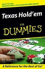 Texas Hold'em For Dummies (For Dummies (Sports & Hobbies))