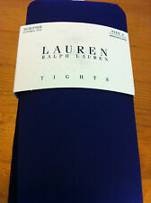 Lauren by Ralph Lauren Tights~Solid Royal Purple~ Control Top~Size A~NWT