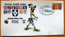 100 X VIC FOOTBALL LEAUGE 1982 GRAND FINAL FIRST DAY COVER- RICHMOND Vs CARLTON