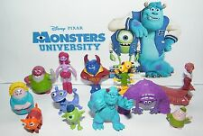 Disney Monsters University Figure Set of 12 with Mike, Sulley, Art, Pig Archie