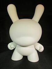 "Kidrobot 8"" Factory White Blank Dunny Rare 2014 ( US SELLER ) Why Wait 30 Days"