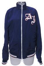 Armani Jeans AJ Jacke 52 L blau outdoor Blouson Polyester Übergang top
