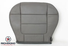 2001 2002 Ford F-150 Lariat SuperCrew-Driver Side Bottom Leather Seat Cover Gray