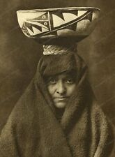 8x10 Print a Zuni Girl With Jar 1903 by Edward S. Curtis #EC88