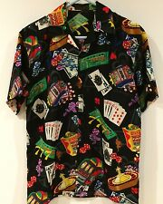 Men's Big Brother Las Vegas Casino Gambling Slot Machines Roulette Shirt Small