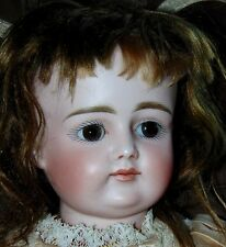 ANTIQUE BISQUE Doll EARLY KESTNER Pouty MARKED X