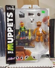 Diamond Select Disney The Muppets Fozzie Bear +  Scooter Action Figure Set New