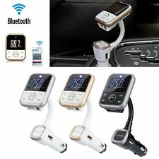 Car Kit Wireless Bluetooth FM Radio Transmitter MP3 Player USB SD Mobile Charger