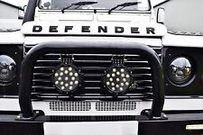 2 x Land Rover Defender 4x4 LED Spot Lamp 51W - 3750 Lumen with Mounting Bracket