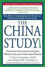 The China Study: The Most Comprehensive Study of Nutrition Ever Conduc-ExLibrary