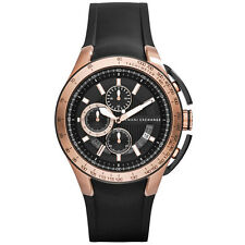 NEW ARMANI EXCHANGE MENS ROSE GOLD CHRONO ACTIVE WATCH - AX1406 - RRP £185