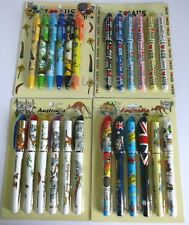24x Australian Souvenir Pens - Bulk Savings! 6 Designs To Choose From! Kangaroo