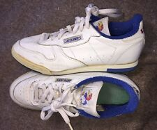 Vintage 80's Kansas Jayhawks Sneakers Shoes Sz 10 Rare KU Basketball Manning