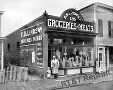 Photograph  F.G. Lindsay Vintage General Store Washington DC  1925  8x10