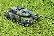 2.4Ghz HengLong 1/16 German Leopard2A6 RTR RC Tank Upgraded Metal Version 3889