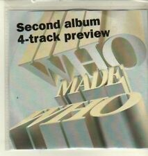 (CW348) Who Made Who, 4 track sampler - 2009 DJ CD