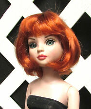 """Doll Wig, Monique """"Hannah"""" Sz 5/6 in CARROT RED"""